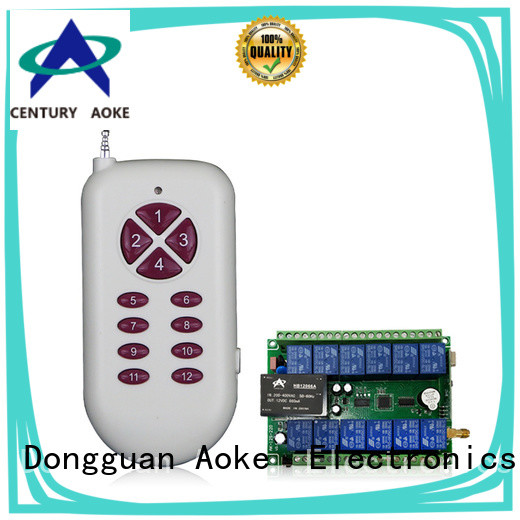 Aoke long lasting wireless remote control light switch supplier used in LED lamps