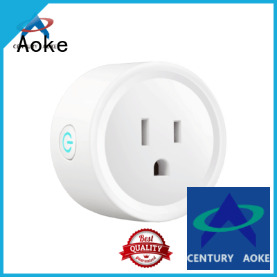 Aoke wifi controlled outlet wholesale for convenience