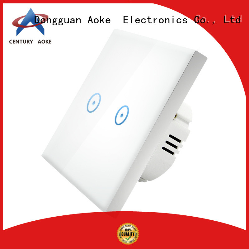Aoke touch panel light switch supply used in electric screens