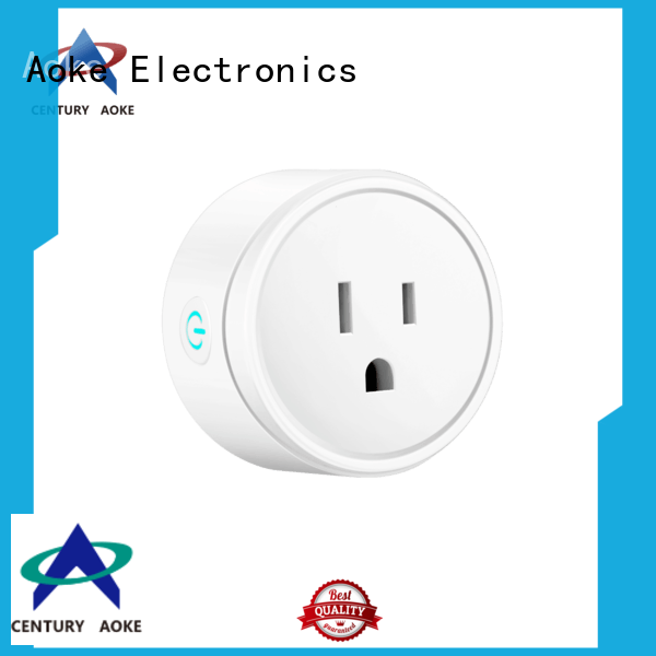 Aoke best smart outlet best supplier for convenience